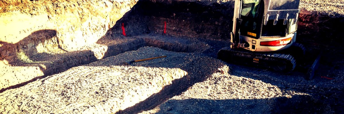 earthworks for foundations